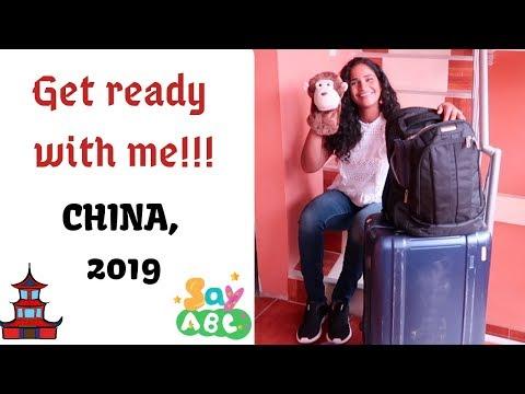 CHINA TRIP - Get Ready With Me! - SayABC 2019 Annual Gala, Shanghai China