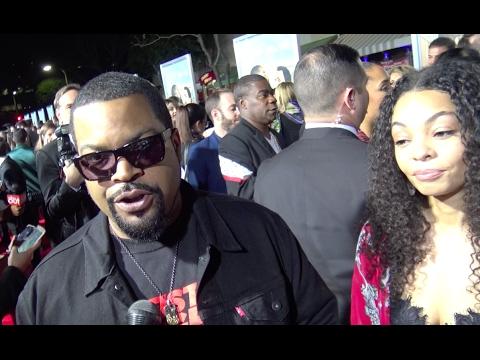 Ice Cube habla del debut de su hijo en sus películas en el Fist Fight' Movie Premiere