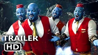 """ALADDIN """"Genie's Clones"""" Clip Trailer (NEW 2019) Will Smith, Disney Movie HD"""