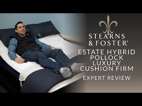 Stearns & Foster Lux Estate Hybrid Pollock Luxury Cushion Firm Mattress Expert Review