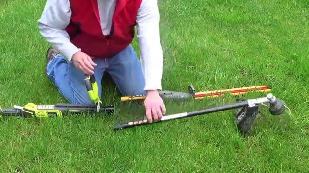 Ryobi Expand It 17 1 2 In Universal Hedge Trimmer Attachment Part No Ry15704 Youtube