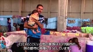 【字幕付】イラク:厳しい生活環境 - 国内避難民イェヒヤさんのうちひしがれた夢 -