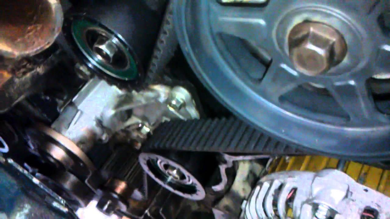 Ford 3 0 V6 Engine Firing Diagram Mazda 626 V6 With New Timing Belt Youtube
