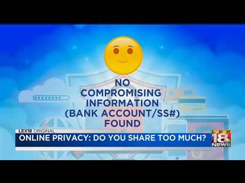 Online Privacy: Do You Share Too Much?