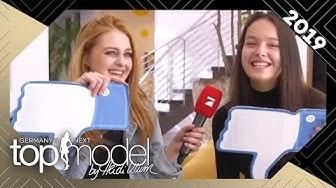 """Vanessa und Cäcilia spielen """"Ich hab noch nie""""   GNTM 2019   ProSieben"""