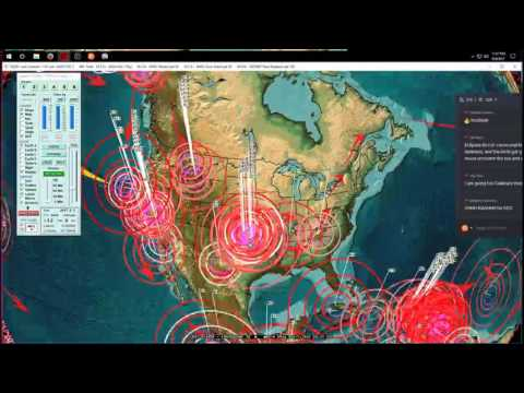 8/04/2017 -- Midwest USA / Kansas Earthquake -- Seismic pressure spreading to the East Coast