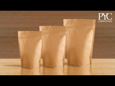 Stand-up pouch for varied applications - Laboratoire PYC