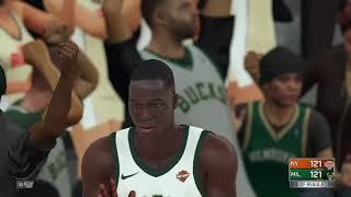 NBA 2K18 Knicks v Bucks #5