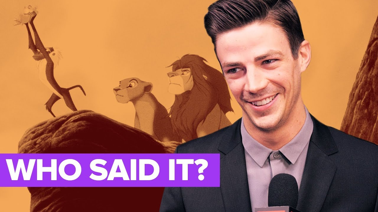 The Flash Cast Plays WHO SAID IT: Barry Allen or Disney Character?