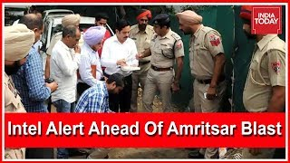 Intel Alert Warned Of Terrorists In Punjab Ahead Of Amritsar Blast