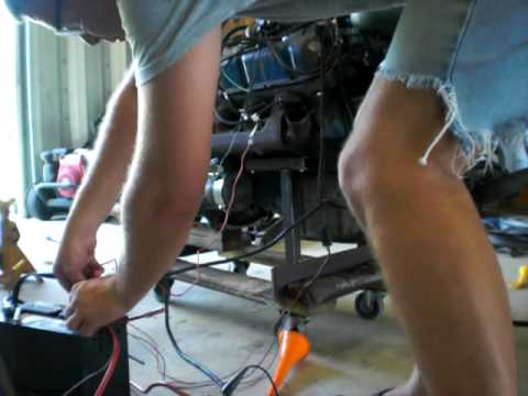 ford 302 duraspark hot wiring  YouTube