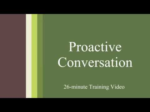 Proactive Conversation