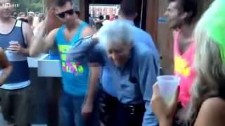 When grandfather dance =))
