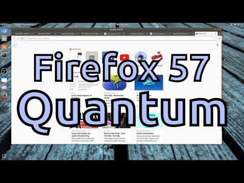 Firefox 57: Quantum