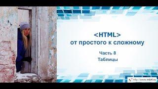 Обучение HTML. Часть 8. Таблицы