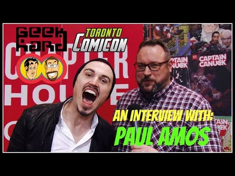 Geek Hard @ Toronto ComiCon 2017 : Paul Amos