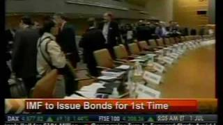 IMF To Issue Bonds For 1st Time - Bloomberg