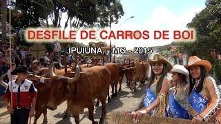 Desfile Carro de Boi Ipuiuna 2015