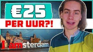 Studenten Bijbaan Amsterdam: €10-25 per uur [parttime werk]