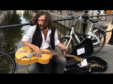 Amazing busker in Amsterdam - Jack Broadbent