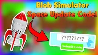 'Nouveau Code De l'Espace' Nouvelle Zone Nouvel Animal de Compagnie Blob Simulator Roblox Codes
