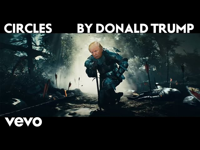 Post Malone - Circles (Cover by Donald Trump)