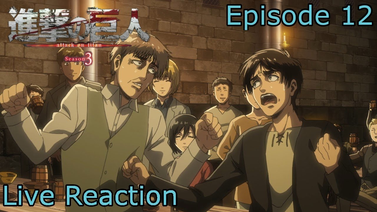 Reaction+Commentary Shingeki no Kyojin   Attack on Titan ...