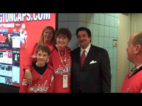 Caps Owner Ted Leonsis Rocks The Red