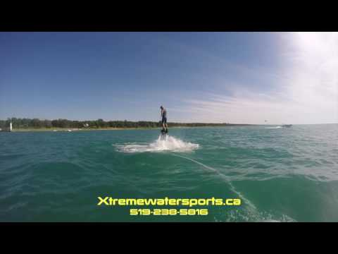 Xtremewatersports ca Grand Bend Flyboarding Zein
