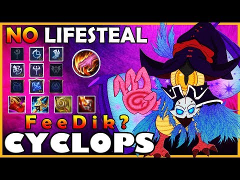 Maniac with no lifesteal.. - Rank 1 Global Cyclops - F e e D i k ? - Mobile Legends - 동영상