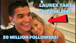 MEETING ALEX WASSABI & LAURDIY in Miami!!! Throwback Vlog!