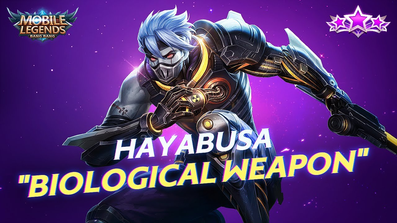 Is Mlbb S New Biological Weapon Hayabusa The Best Cyborg Ninja Skin Ever You can also upload and share your favorite 3d dragon wallpapers. best cyborg ninja skin ever