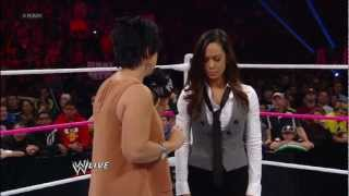 AJ Lee resigns as Raw General Manager: Raw, Oct. 22, 2012