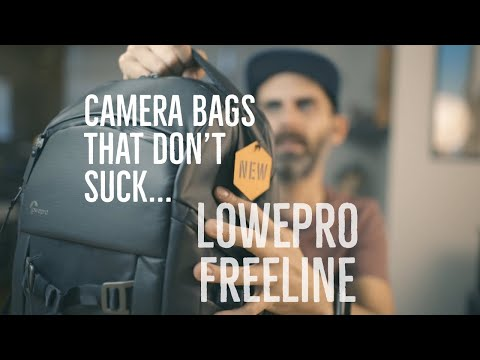 NEW Lowepro FreeLine BP 350 AW Camera Backpack Unboxing