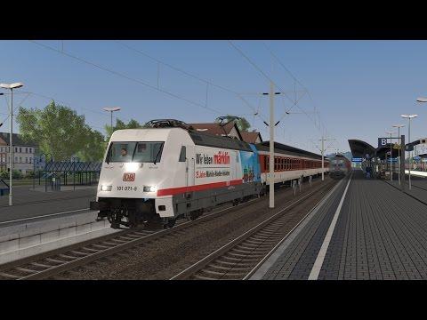Let´s Test Train Simulator 2016 #9 / Test der Baureihe 101 von vR