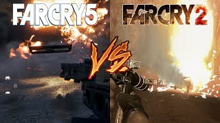 Far Cry 2 vs. Far Cry 5 - Attention To Detail