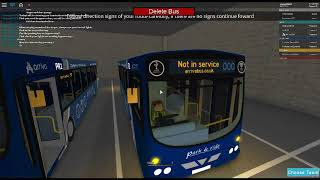 Arriva Connecting Roblox - first use check