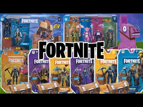 NEW FORTNITE ACTION FIGURES AVAILABLE NOW!!! JAZWARES FORTNITE TOYS