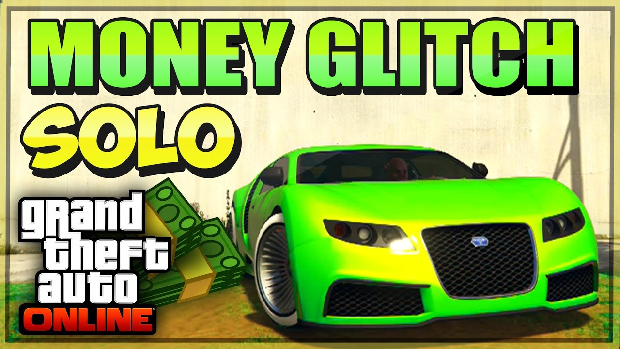 "GTA 5 Online ""SOLO"" Money Glitch 1.32 - ""GTA 5 Szybka Kasa ..."