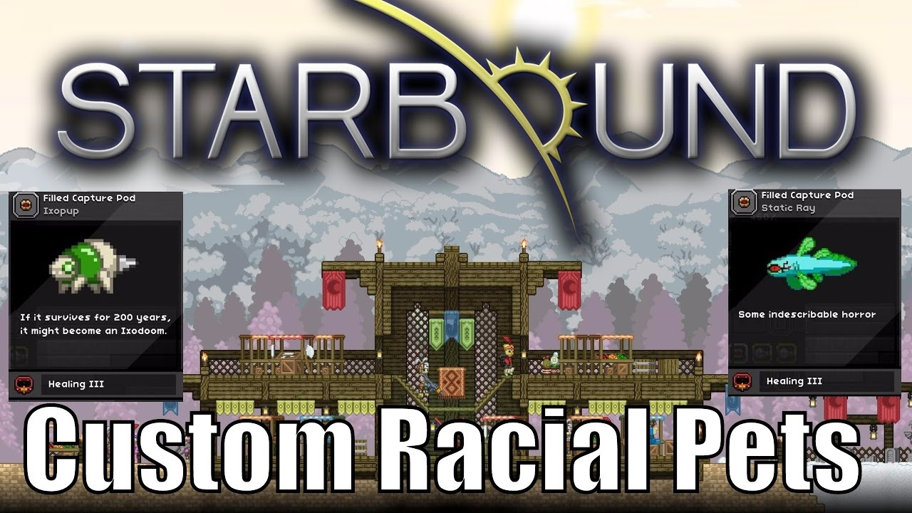 Starbound: Custom Racial Pets