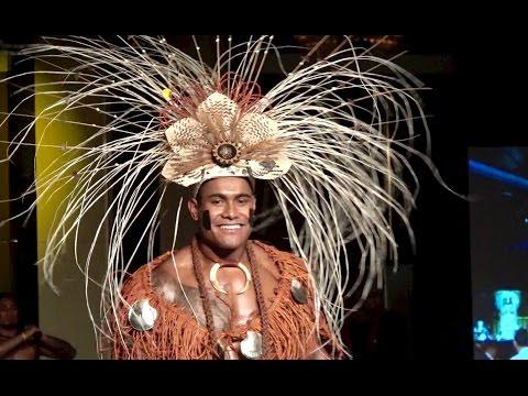 Traditional Wear - Mr Polynesia Pacifica Australia