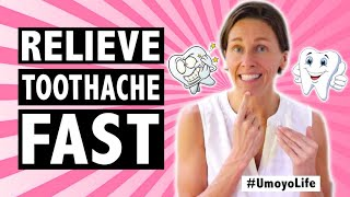 Top 6 Proven Ways to Relieve Toothache FAST (Naturally) - #UmoyoLife 019