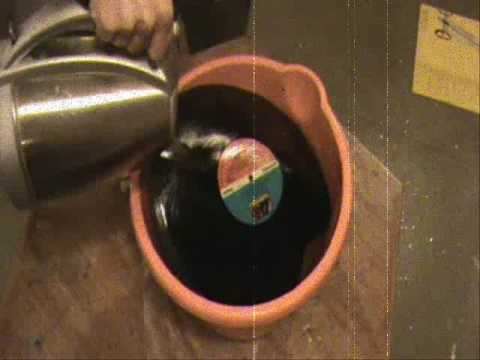 how to make your own record vinyl lp bowl bowls youtube. Black Bedroom Furniture Sets. Home Design Ideas