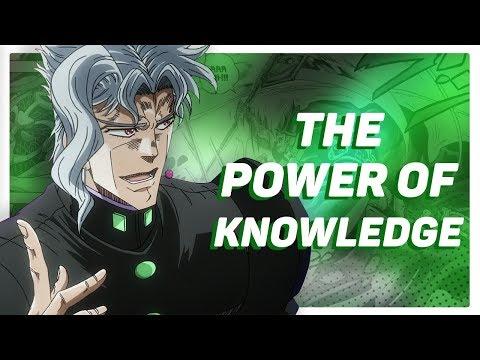 Noriaki Kakyoin: The Power of Knowledge
