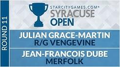 SCGNY - Round 11 - Julian Grace-Martin vs Jean-Francois Dube [Modern]