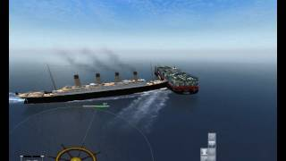 Ship Simulator 2008 - ship collision