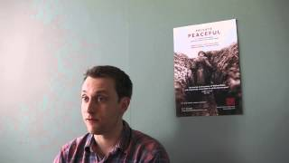 Interview Question 2 with William Troughton, acting in Private Peaceful at Tobacco Factory Theatres