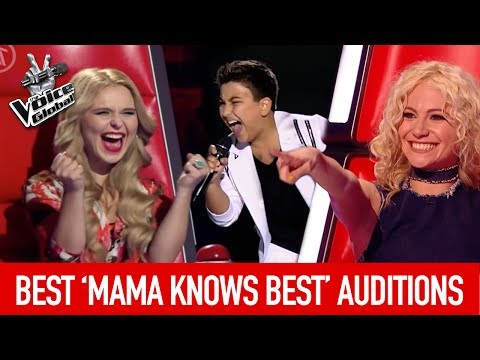 The Voice Kids | BEST 'MAMA KNOWS BEST' Blind Auditions