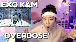 EXO-K & EXO-M 'Overdose' (중독) (上瘾) MV REACTION | EXO-CISE WITH ME (Day 8)