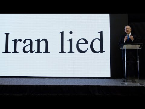 Benjamin Netanyahu: 'Iran lied about nuclear programme'